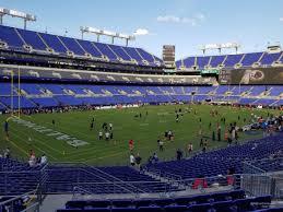 Ravens Stadium Interactive Seating Chart M T Bank Stadium Section 133 Baltimore Ravens