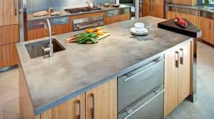 kitchen countertop trend 2019 concrete kitchen countertop