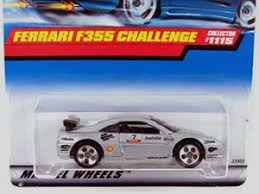 Ferrari f355 f 355 spider cabrio rot red 1994 mattel hot wheels sonderpr. Hot Wheels Guide Ferrari F355 Challenge