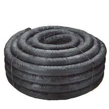 4 in x 250 ft corex drain pipe perforated with sock