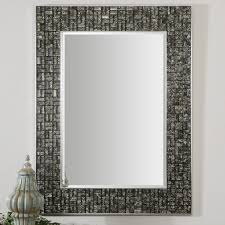 30 ideas of mosaic tile framed bathroom mirrors inside inspirations 2