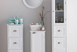 White Bathroom Storage Creditrestore Us