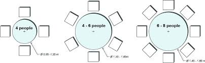 4 person table dimensions round dining table for 6 people 8 person table dimensions nice decoration