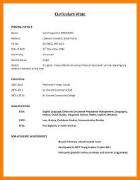 How To Write A Resume 5 How To Write Cv Example Emt Resume Zasvobodu