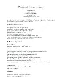 Tutor Resume Sample Custom Tutor Resume Objective Tutor Resume Sample Tutor Resume Example Math