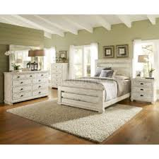 Bedroom Expansive distressed white bedroom furniture painted