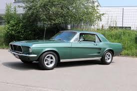 Ford Mustang Coupe 1967 Bullit-Grün 289 V8   NR Classic Car Collection  Stuttgart