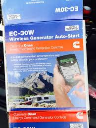 wincrasher's travels onan generator remote control ec 30w onan energy command 30 for sale at Wiring An Rv Generator Auto Start Ec 30