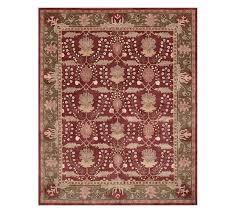 franklin persian style rug pottery barn