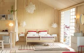 ikea bed furniture. A Medium Sized Bedroom Furnished With Open Floor-to-ceiling Storage, Consisting Of Ikea Bed Furniture I
