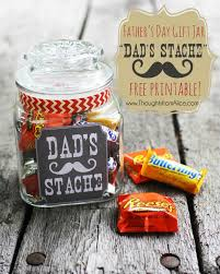 dad s stache in a jar cool diy father s day gift ideas