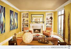 40 Fab Living Room Designs With Yellow Accent Home Design Lover Unique Yellow Living Rooms Interior