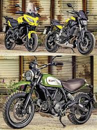 sports cycle pcp heroes shootout versys 650 vs scrambler vs mt 07