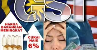 Image result for gst membebankan rakyat
