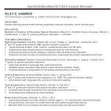 High School Teacher Resume Examples School Teacher Resume Examples ...