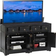 Hidden Tv Cabinets Tv Lift Cabinet At006544blk Ming 66 Hidden Flat Panel Tv Pop Up