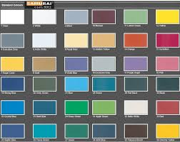 Samurai Spray Paint Colour Chart Samurai Spray Paint Standard Colour End 2 3 2019 4 31 Pm