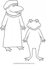Small Picture Froggy Gets Dressed Coloring Page Coloring Home
