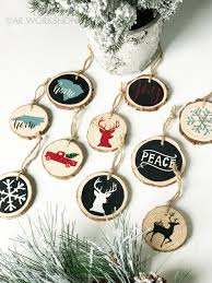 tree decor work wood slice ornament project from 35 ar work ankeny