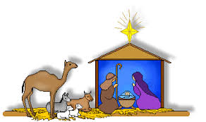 mary and joseph clip art. Unique Clip Christmas Clip Art  Nativity Scene Stable And Animals Throughout Mary And Joseph H