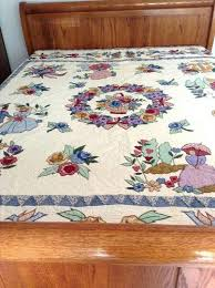 Victorian Style Comforter Sets Victorian Style Quilts Vintage ... & Victorian Style Comforter Sets Victorian Style Quilts Vintage Applique Quilt  Victorian Style Numbered Limited Ed Bedcover Adamdwight.com