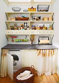 Clever Storage For Small Kitchens 20 Briliant Small Laundry Room Storage Solutions