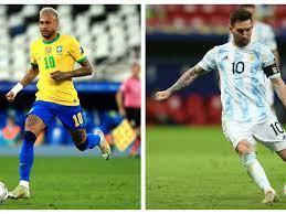 Brasil vs. Argentina: ver aquí EN VIVO ...