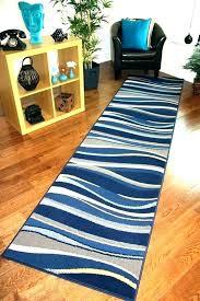 long hallway runners runner rugs kitchen carpet ft blue