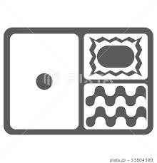 弁当 弁当箱 お弁当 イラスト アイコンのイラスト素材 33804300 Pixta