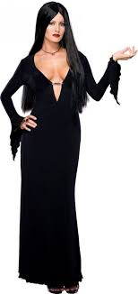 plus size wednesday addams costume morticia plus size addams family halloween costumes 2018