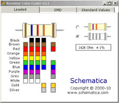 Diagram Of Resistor Colour Code - Electrical Work Wiring Diagram •