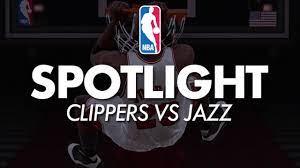 LA Clippers vs Utah Jazz ...