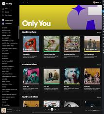 Spotify have today launched 'only you', a new feature that personalizes an array of lists that show off unique listening habits of the streaming service's users. Rwr19axjk Denm