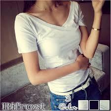 見逃すな流行アイテム レディースファッション通販美鎖骨見せtシャツ