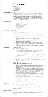 Engineering Resume Templates Magnificent Free Professional Engineering Resume Templates ResumeNow