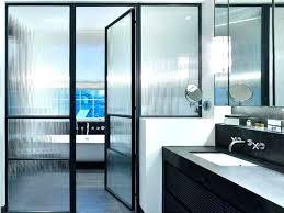 black frame sliding shower door accordion bathroom design chic ways to use framed doors black metal framed shower door