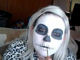 and easy skeleton make up tutorial
