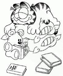 Kleurplaten Van Garfield Jouwkleurplaten