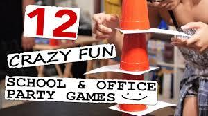 12 Crazy Fun School Office Party Games