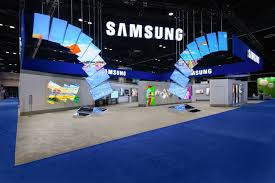 Convention Booth Design Great Design For This Samsung Tradeshow Booth Exhibition