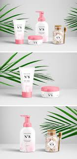 Cosmetic products packaging mockup free psd is absolutely free for creating presentations and for branding design for beauty product. Cosmetics Packaging Psd Mockup Graphicburger