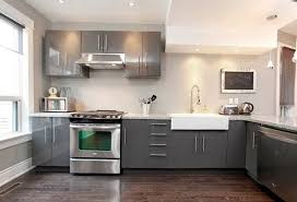 White And Grey Kitchen Cabinets Grey Kitchen Cabinets With White  Countertops Home Design Ideas Dream Home Design Ideas Pinterest Design  Colors