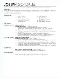 Mechanic Resume Template Impressive Automotive Technician Resume Template From It Technician Resume