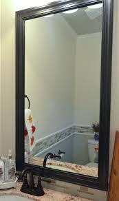 Bathroom Frameless Mirrors 17 Best Ideas About Diy Frameless Mirrors On Pinterest Farmhouse