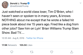 Image result for trump loser tweets