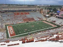 Ut Texas Football Stadium Seat Chart Dkr Texas Memorial Stadium Section 108 Rateyourseats Com