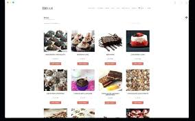 Free Chocolate Cake Shop Template By Free Website Template Free
