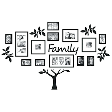 wall collage frame set black wall picture frames inspirational family s frame set piece wall mount