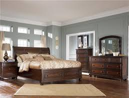 sleigh bed furniture. Ashley Furniture Porter Queen Sleigh Bed With Storage Footboard | Wayside Beds