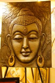 clay wall art buddha mural made of saw dust pop ceramic mpa composition on clay wall art pinterest with buddha mural made of saw dust pop ceramic mpa composition my